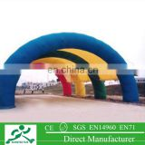 inflatable event tent,outdoor camping inflatable clear air dome tent,inflatable shower tent FT-34