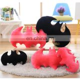 Special Design Bat Shape Soft Stuffed Animal Pillow