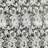 40s cotton chemical lace fabric used on garment
