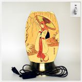 Desk lamp, creative lamp, decorative lamp, LED lamp, Japanese culture lamp (Japan005)