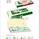 Gifts delicious food picture delicate Desk calendar for 2015