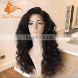 Top quality Brazilian body wave thick hair full head mink Brazilian human hair wig