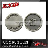 CTY-SO191 metal snaps for clothing/alphabet button