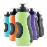 550ml soft PE water bottle with dust cap
