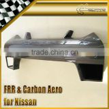 For Nissan R35 Carbon Fiber GTR Front Bumper Nose Cover