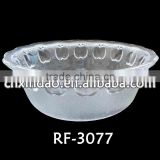 2014 Hot Sale Personalized Round Clear Glass Rice Bowl and Fruit Bowl for Houseware