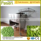 Automatic pea sheller, Peas husking machine, Fresh bean peeling machine