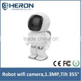 Robot Security Cameras IP Waterproof IP Camera wireless 960P 3.6mm Fixed Lens Mega Pixel wifi IP Camera                                                                         Quality Choice