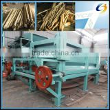 Automatic discharge and super capacity double roller wood log debarker for sale/wood log peeling machine with 12 meters