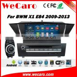 "Wecaro WC-BW9001 9"" android 4.4.4 dvd for bmw x1 e84 2009 2010 2011 2012 2013 car multimedia system navigation dvd player                                                                         Quality Choice"