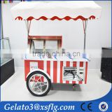 Bike ice cream cart /street vending tricycle for sale