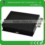 Video Data Optic Transceiver 4 Channel Video Data optical fiber transmitter and receiver