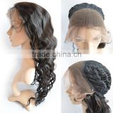 Wholesale Brazilian Human Hair Front Lace Wig, Cheap Long Body Wave Lace Wig With Baby Hair