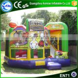 2016 toys for children inflatable bouncy castle with water slide for sale                                                                                                         Supplier's Choice