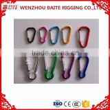 POPULAR ALUMINIUM CARABINER SNAP HOOK ,COLORFUL