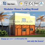 Prefabricated Villa Style Steel Prefab House/light steel sturcture concrete house/one room hotel