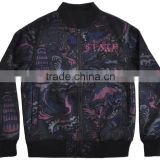 Star Wars Galaxy Wars Licensed Women's and men's Sublimated Zip Front Bomber Jacket