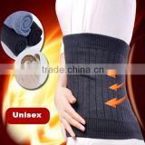 Unisex high quality double layer extra thickness wool warm waist support, back support, lumbar support