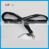 Customzied Tube/Tubular type mobile phone string Lanyard with safety break buckle