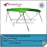 4 bow stainless steel frame bimini boat top