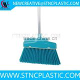 plastic broom head with metal handle