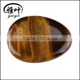 Bulk Wholesale Yellow Tiger Eye Gems Stones Worry Stones for Body Therapy