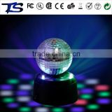 Party supply Christmas decoration mini led disco set/disco ball/mirror ball/rotating party mood light