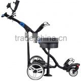FOLDING DIGITAL ELECTRIC GOLF TRUNDLER TROLLEY CADDY CART BUGGY WITH SEAT LITHIUM BATTERY