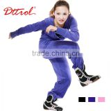 D005063 Dttrol latest design long sleeve velour tracksuit women