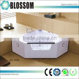 2015 China nice design best quality freestanding air whirlpool massage bathtub                                                                         Quality Choice