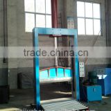 Single blade eva rubber foam sheet hydraulic cutting machine