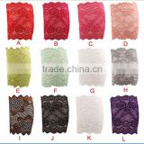 2015 hot sale women girls lace leg warmers elastic lace Flower Design leg warmers Lace Trim Toppers Boot Socks Cuffs