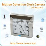 JVE-3311B-2 SD Card Digital Video Hidden Clock Camera with Motion Detection 640*480@30fps