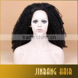 New Ombre Black Color Cosplay Wig Long Curly Wavy Glueless Full Head Coustume Wig