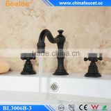 "Beelee BL3006B-3 Bathroom 3pcs Basin Tap, 8"" Widespread Basin Faucet in Oil Rubbed Bronze"