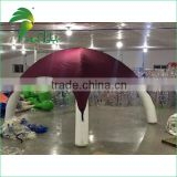 customized made inflatable bright red tent with high quality
