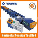 China made 30Ton to 1000Ton Horizontal tensile testing bed horizontal Tensile testing machine Horiontal tensile tesing bench