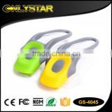 Onlystar GS-4045 wholesale silicone front light 1 led bike bicycle flashlight                                                                                                         Supplier's Choice