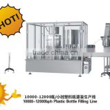 Liquid Plastic Bottle Syrup, Oral Liquid, Tincture Filling Line (20-500ml, 10000-12000bph )