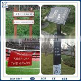 outdoor led sign board material