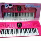 Hot Selling Kid Toy 49 Key Digital Electronic Organ Music Composition ,Wholesale From China Plastic Toy Musical Instrument