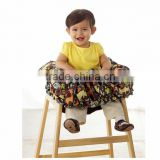 Baby cart cover high chair cover print cover car cushion stoller cushion baby shopping cart cover highchair cover made in china