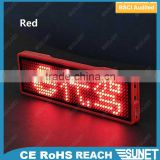 hot wholesale Led Scrolling Mini Display blanks for lapel pins