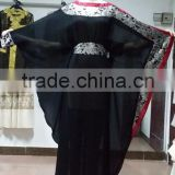 Muslim dress Arab dubai islamic Party and other formal fancy jalabiya wear black praying abaya
