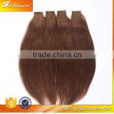Very Good Quality 100% Human Natural Color Remy Indian Tape Hair at Factory Price