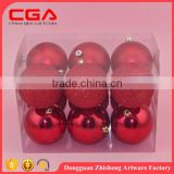 exquisite factory supplied wholesale christmas tree ornament plastic balls in packet christmas decoration