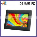 tft lcd digital picture auto-loop display board AC 220-240V volt ratio 16:9 USB2.0 external memory build-in capacity card
