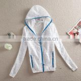 Wind and Rain Resistant Hooded Jacket For Women 2014