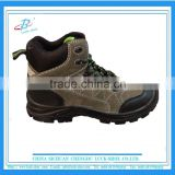 steel toe high top Mens safety boots, new design high quality work shoe, wholesale pu outsole safety boots