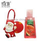 Christmas Gifts Private Label Travel Cartoon Figure Antibacterial Gel Hand Sanitizer Holders